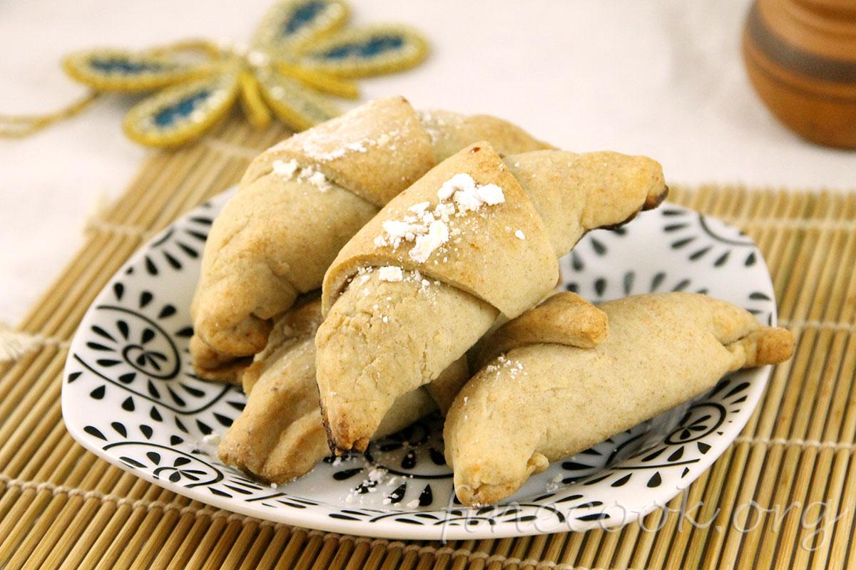 Печенье рогалики рецепты 4