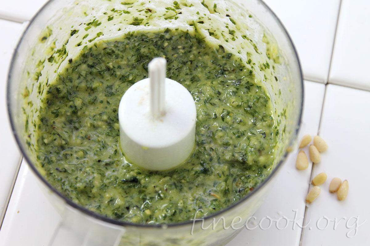 Как сделать соус из базилика