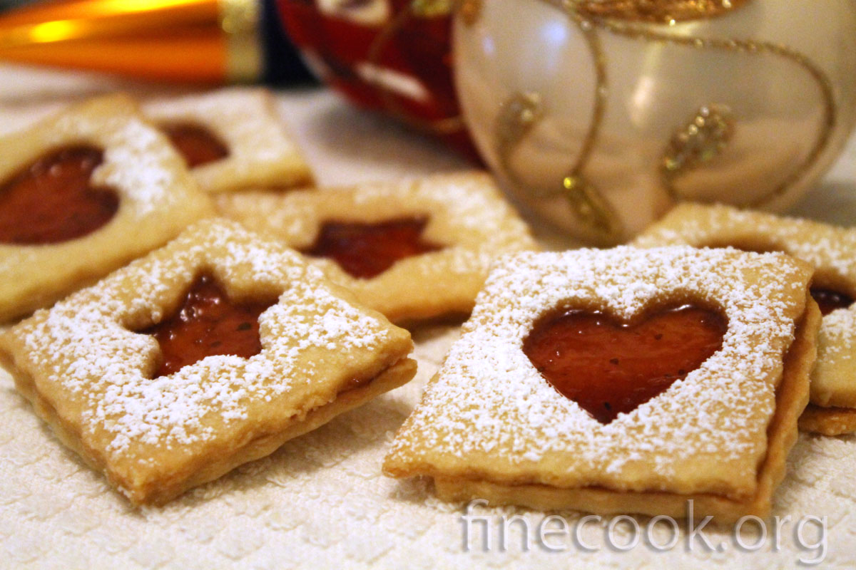 песочное ldjqyjt печенье с вареньем рецепты с фото