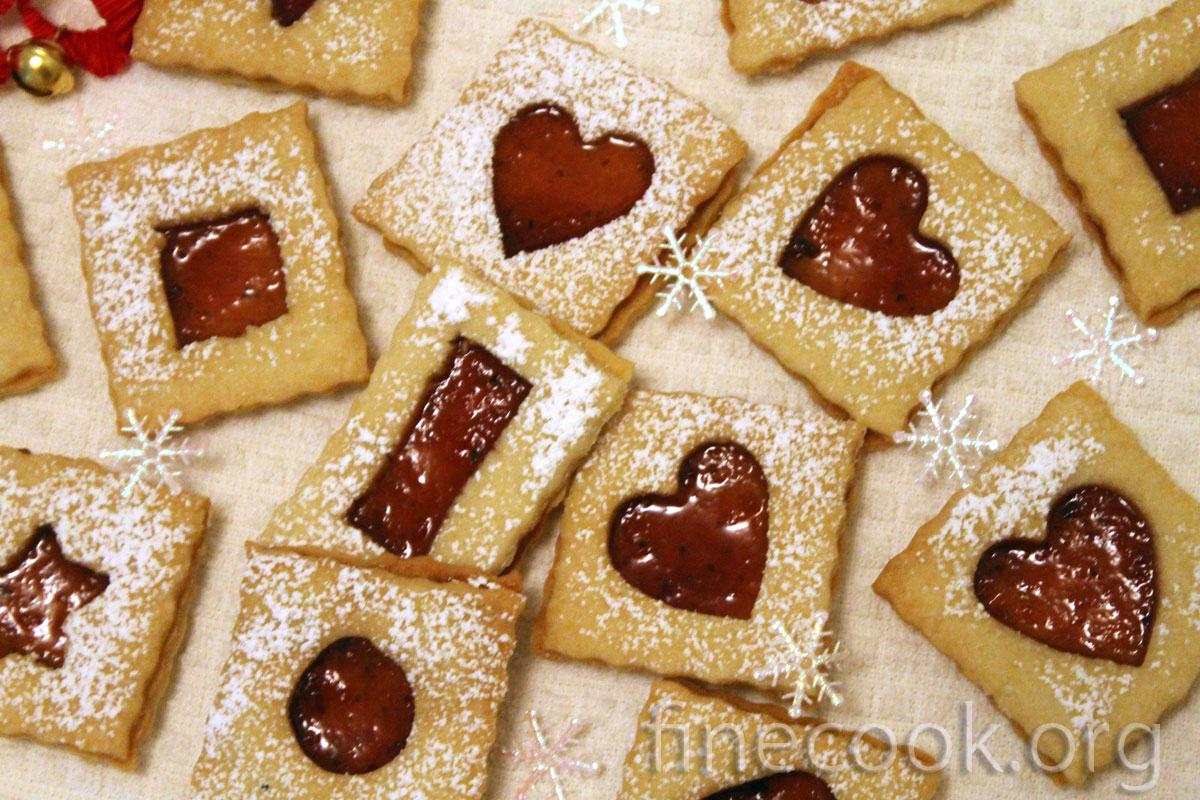 Печенье в духовке с вареньем рецепты с пошагово